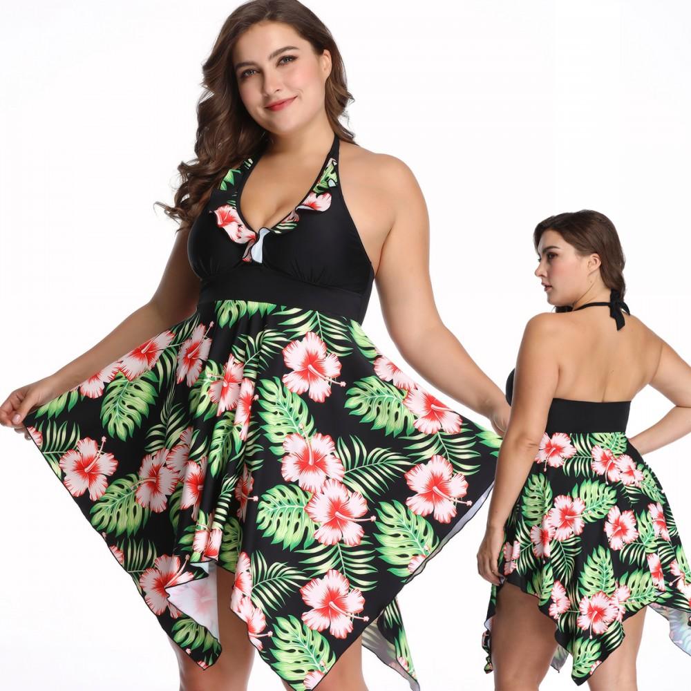 Beaded Macramé Swim Dress| Plus Size Swim Dresses | Roaman