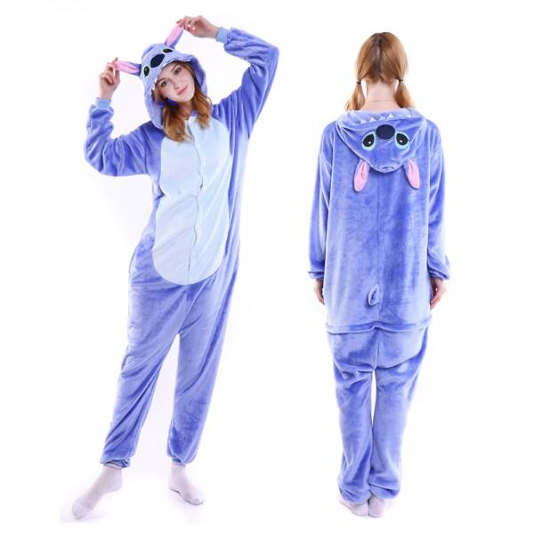 Stitch Adult Animal Onesie Pajamas Costume