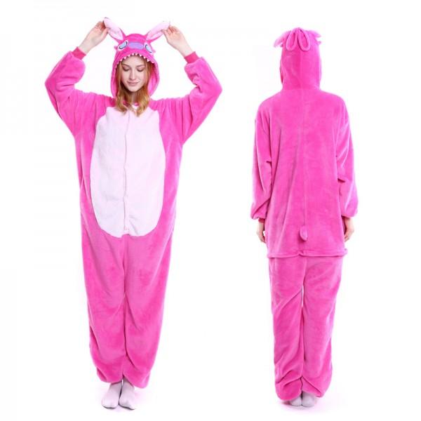 Angel Stitch Adult Animal Onesie Pajamas Costume