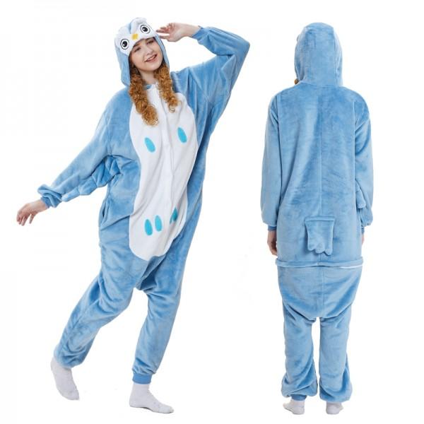 Owl Adult Animal Onesie Pajamas Costume