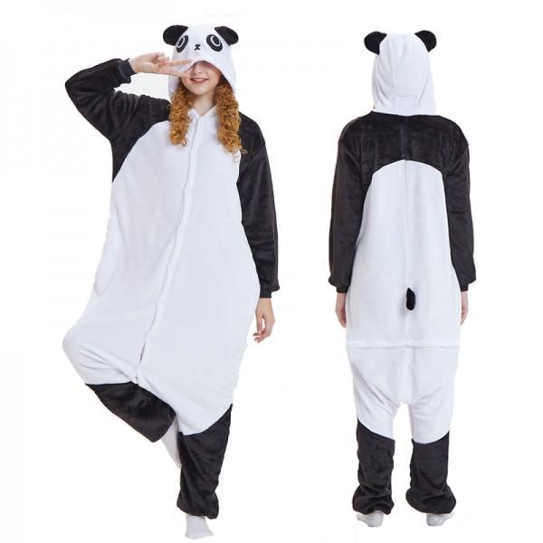 Kungfu Panda Adult Animal Onesie Pajamas Costume