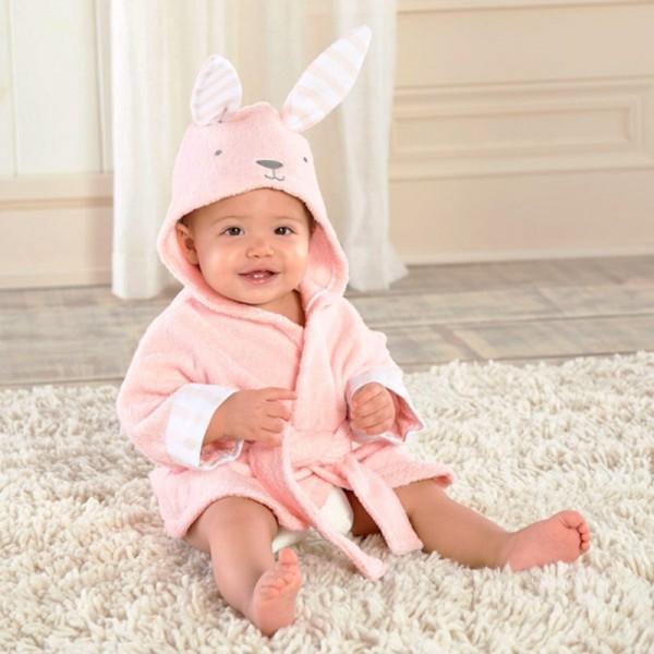 Bunny Robe for Baby Flannel Bathrobe