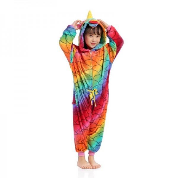 Scale Unicorn Boys & Girls Animal Onesie Pajamas Cosplay Cute Costume