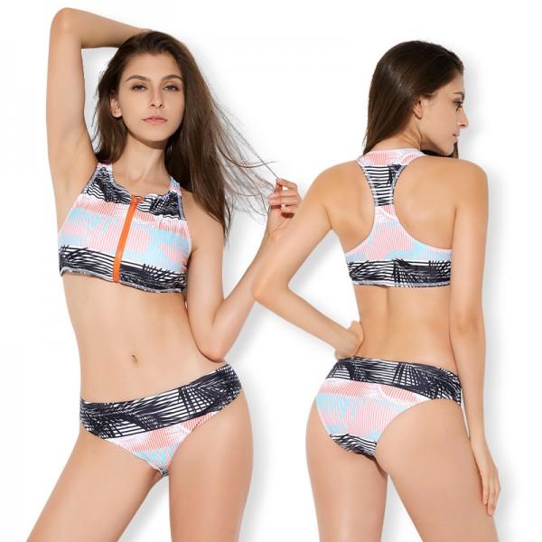 Two Piece Swimsuits For Women Bathing Suit Rash Guard Surf Suits